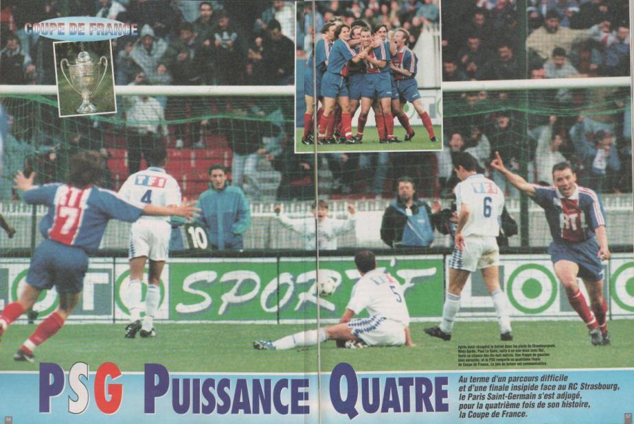 Psg70 psg strasbourg 1995 - Coupe de france strasbourg ...